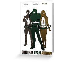 D.C-Original Team Arrow Greeting Card