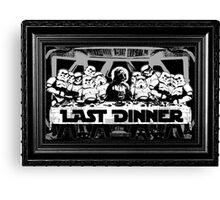 STAR WARS LAST DINNER Canvas Print