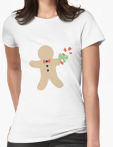 Gingerbread man #1 Womens Fitted T-Shirt