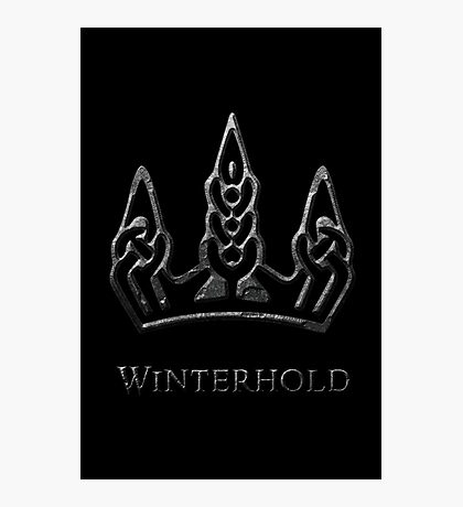 Winterhold Photographic Print