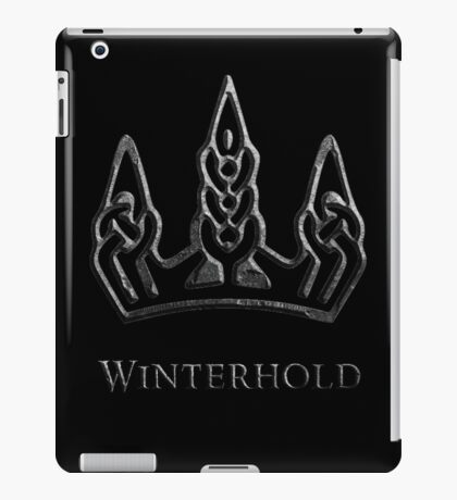Winterhold iPad Case/Skin