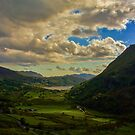 Welsh Valley by bethadin