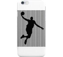 Basketball Jump Shot iPhone Case/Skin