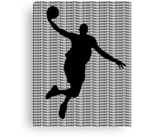 Basketball Jump Shot Canvas Print