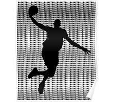 Basketball Jump Shot Poster