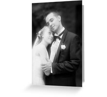 infrared. Greeting Card