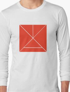 Hour Glass - Red Long Sleeve T-Shirt