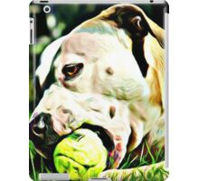 Pit Bull Rescue Beauty iPad Case/Skin