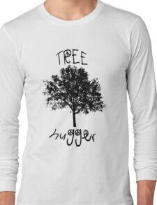 Tree Hugger Peace Long Sleeve T-Shirt