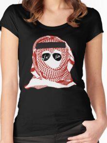 khaleeji  Women's Fitted Scoop T-Shirt