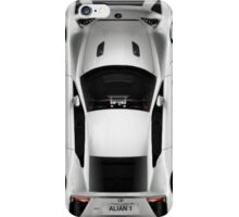 Silver sports car iPhone Case/Skin