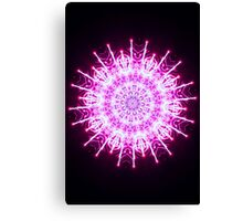 Super Charged Snowflake Canvas Print