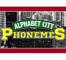 Alphabet City Phonemes Photographic Print