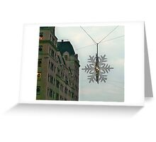 Fifth Avenue Snowflake Greeting Card