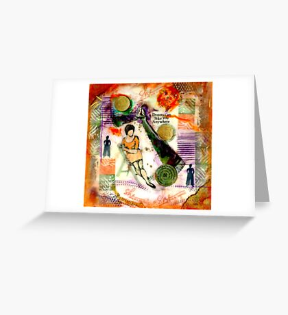 She Remained True Greeting Card