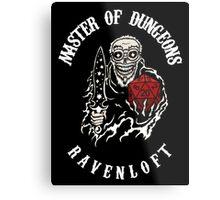 Master of Dungeons - Ravenloft Metal Print