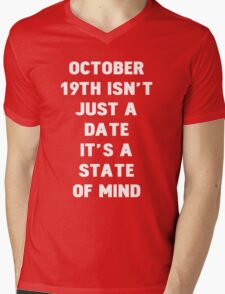 October 19th Mens V-Neck T-Shirt