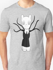 Slenderman Pony Unisex T-Shirt
