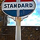 Standard Oil Sign - HDR by markwestpfahl