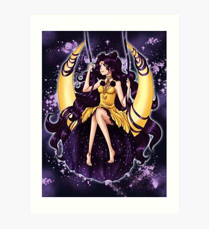 Human Luna Art Print
