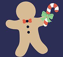 Gingerbread man #2 by simplepaperplan