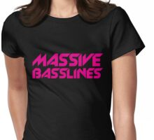 Massive Basslines Womens Fitted T-Shirt