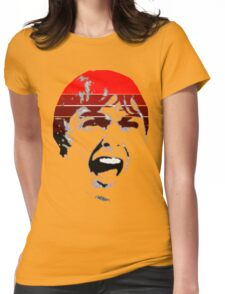 Psycho Scream  Womens Fitted T-Shirt