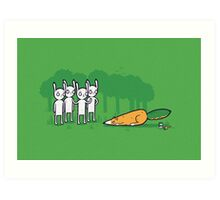 A clever disguise Art Print