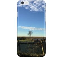 Farm Fence iPhone Case/Skin