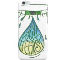 2: quit your tears iPhone Case/Skin