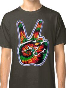 Tie-Dye Peace Sign Classic T-Shirt