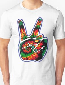 Tie-Dye Peace Sign Unisex T-Shirt