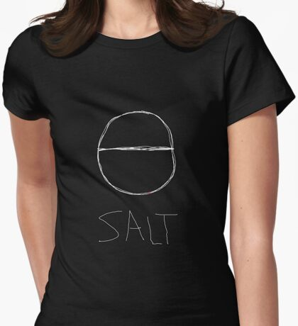 Salt rituals of purification magical protection and blessing spell cast Womens Fitted T-Shirt