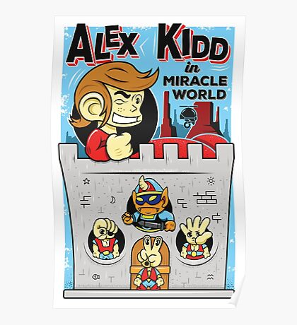 Alex Kidd in Miracle World Poster