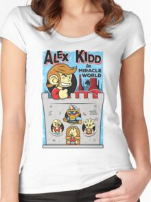Alex Kidd in Miracle World Women's Fitted Scoop T-Shirt