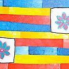 Flowers on a Primary Stream by Jeremy Aiyadurai