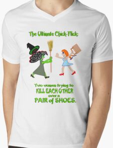 Dorothy and Elphaba - Typical girls... Mens V-Neck T-Shirt