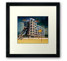 Bates Motel by the Sea. Framed Print