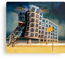 Bates Motel by the Sea. Metal Print
