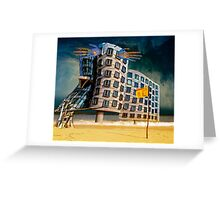 Bates Motel by the Sea. Greeting Card