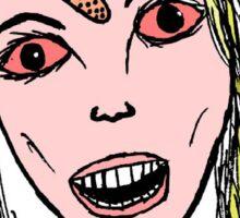 blonde girl Sticker
