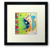 Music Creation Framed Print
