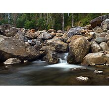 Boulders on the River Photographic Print