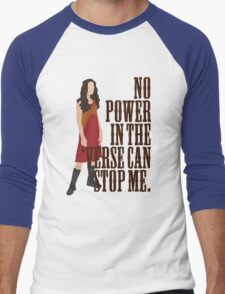 River Tam - No Power In The 'Verse Can Stop Me Men's Baseball ¾ T-Shirt