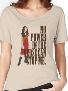 River Tam - No Power In The 'Verse Can Stop Me Women's Relaxed Fit T-Shirt