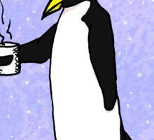 Penguin At Work Sticker