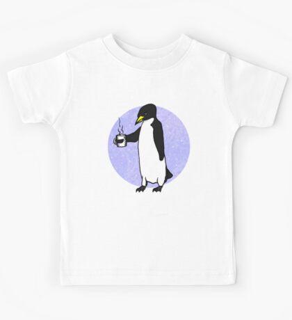 Penguin At Work Kids Tee