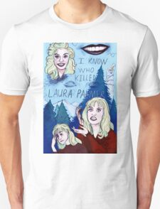 I KNOW WHO KILLED LAURA PALMER A Twin Peaks Tribute Piece T-Shirt