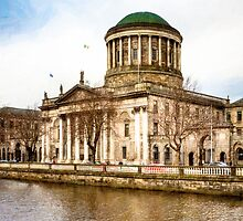 Four Courts - Dublin Ireland by Mark Tisdale