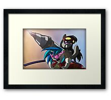 WHO THE HAY DO YOU THINK WE ARE? Framed Print